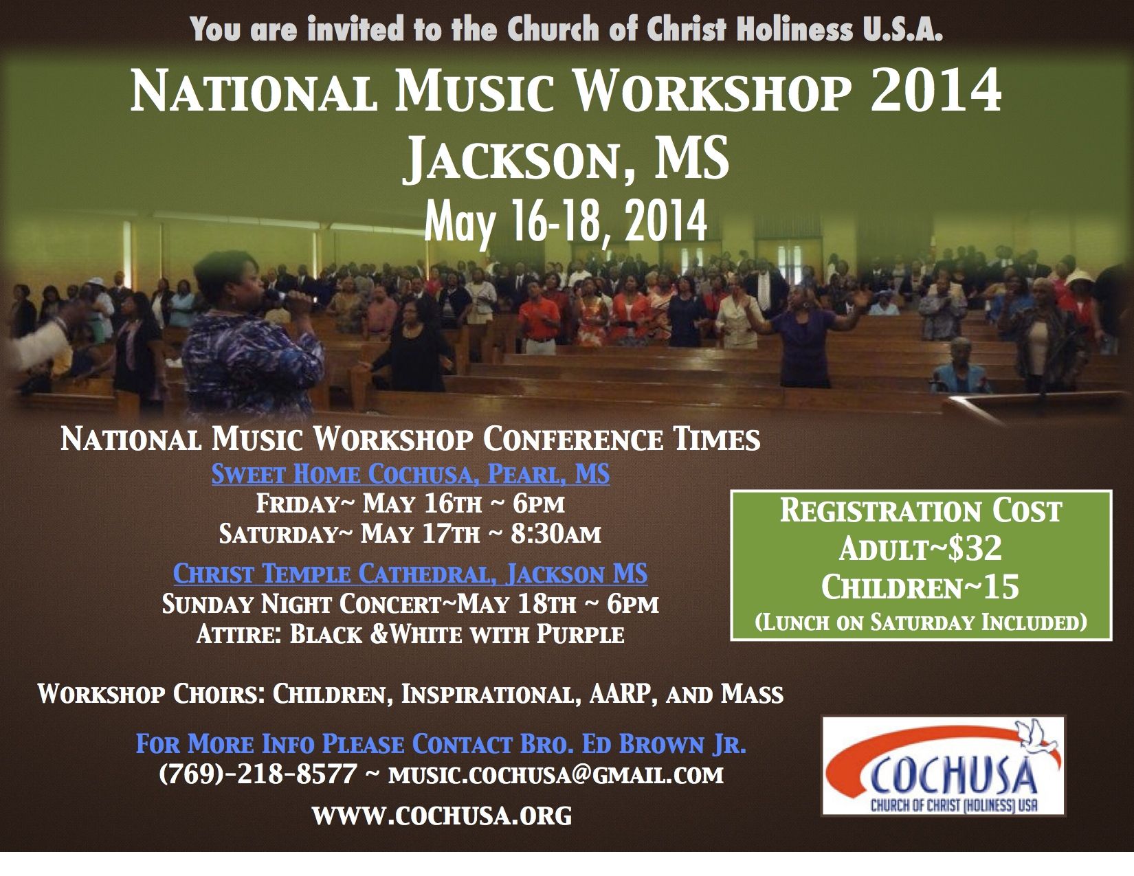 National Music Workshop 2014 @ Sweet Home Church