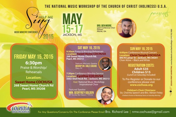 Help Me Sing – 2015 Music Ministry Conference