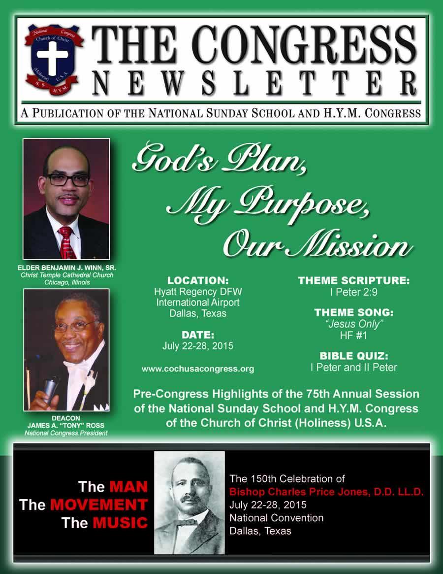 Congress Newsletter 2015_cover