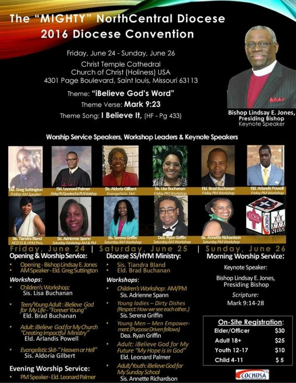 North Central Diocese Convention @ Christ Temple Cathedral |  |  |