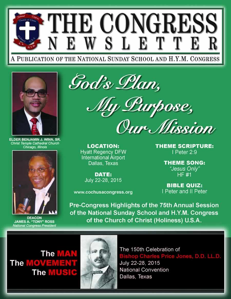 Congress Newsletter 2015_cover