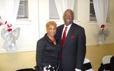 Bishop Lindsay & Santa Jones Pastors Appreciation!