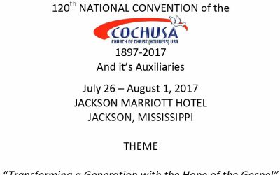 120th National Convention Program