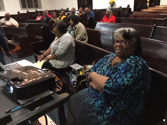 Missionary Patricia Lindsay's 1st Dist. visit Little Rock, AR SW Diocese