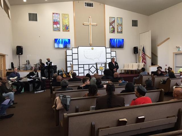 Ambassador's visit Christ Temple Seattle, WA